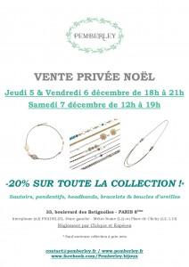 Vente Noël Pemberley décembre 2013 à Paris