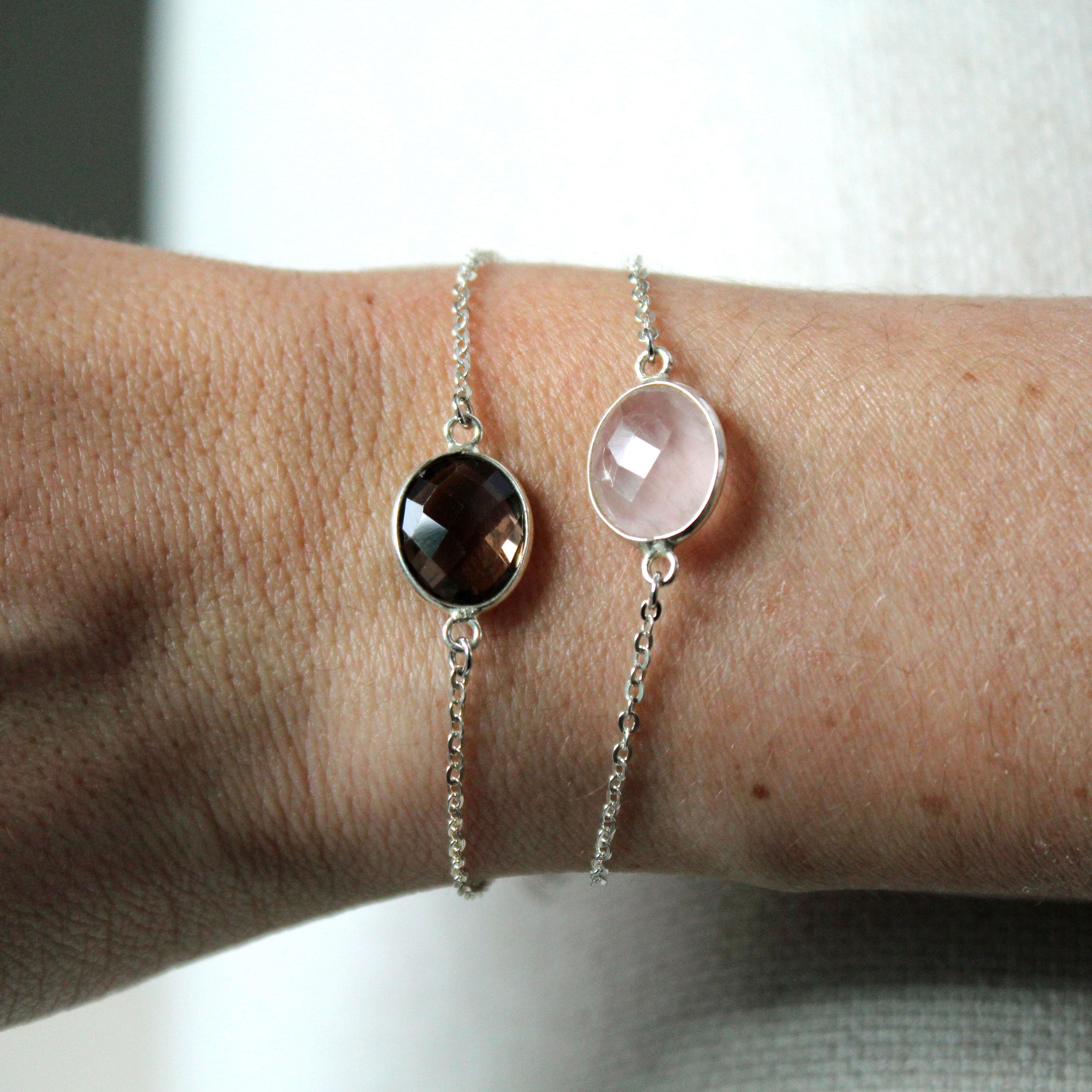 ESMEE bracelets en argent massif Pemberley