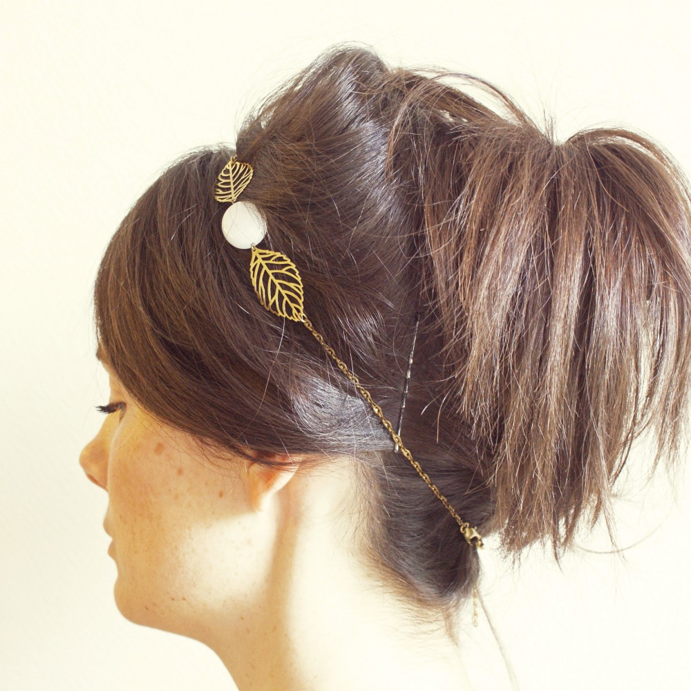 DAHLIA headband Pemberley porté
