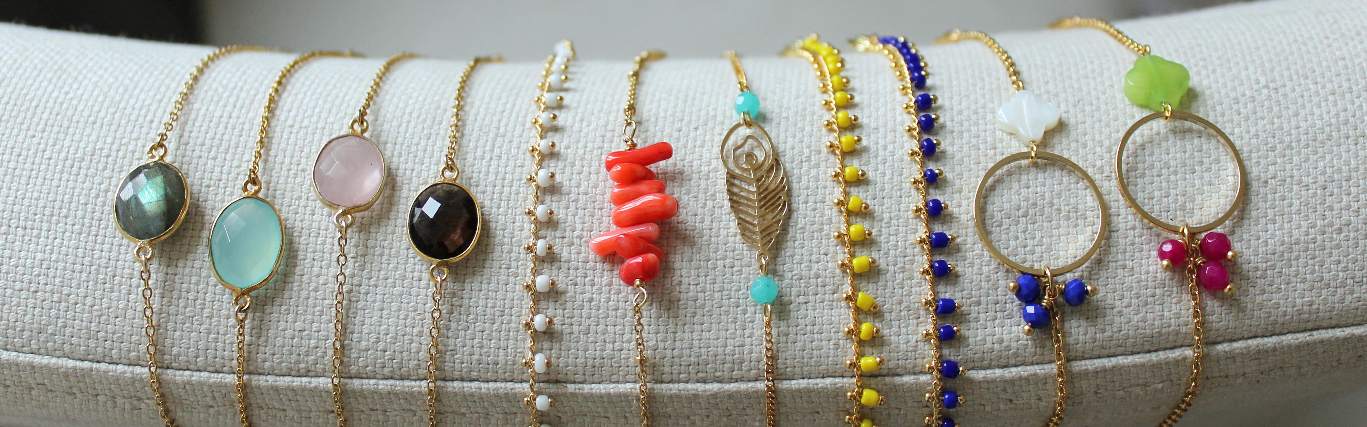 Bracelets plaqué or Pemberley
