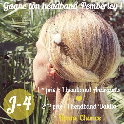 Pour fêter la rentrée, 2 headbands Pemberley à gagner